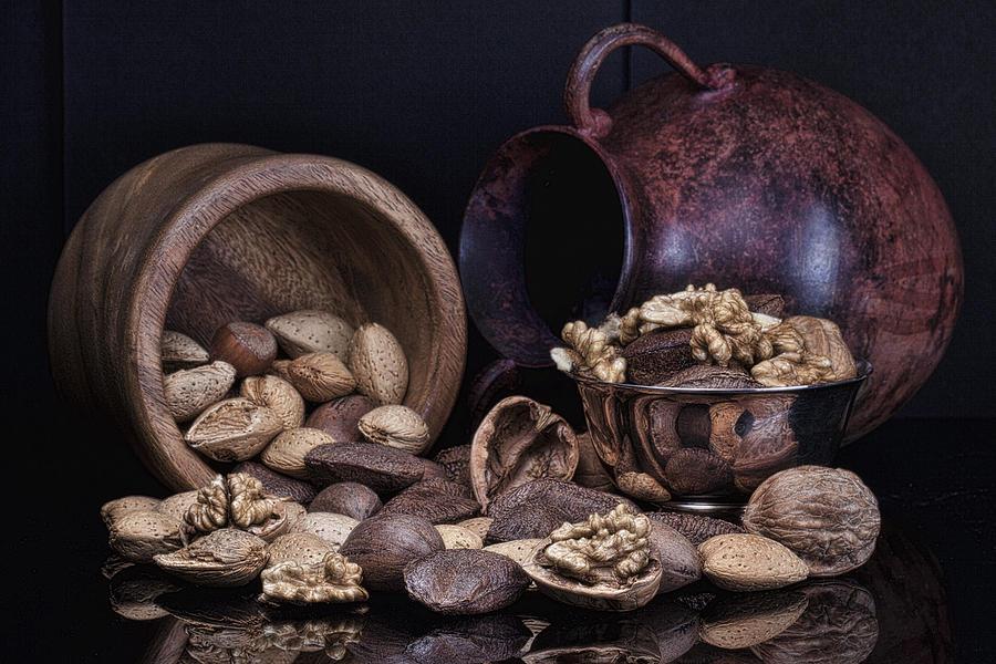 Nut Photograph - Nuts by Tom Mc Nemar