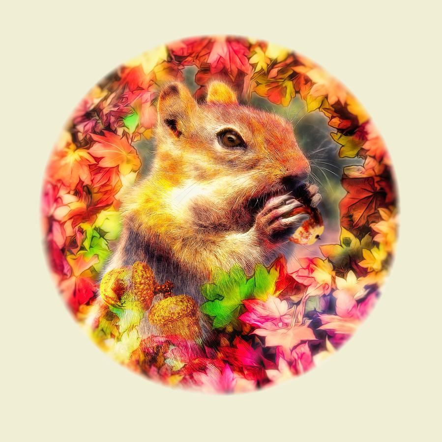 Nutty Squirrel by Bill Johnson