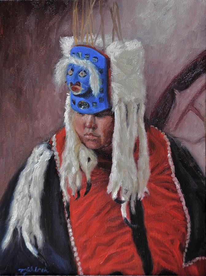 Native American Painting - Nuxalk Dancer by Tahirih Goffic