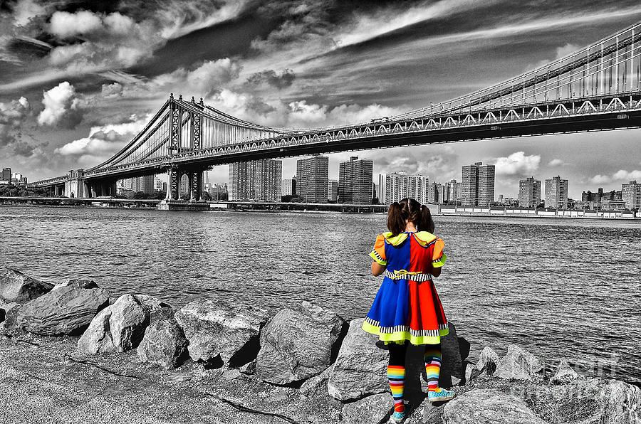 New Photograph - Ny Costume Party by Alessandro Giorgi Art Photography
