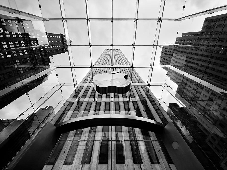 New Photograph - Nyc Big Apple by Nina Papiorek