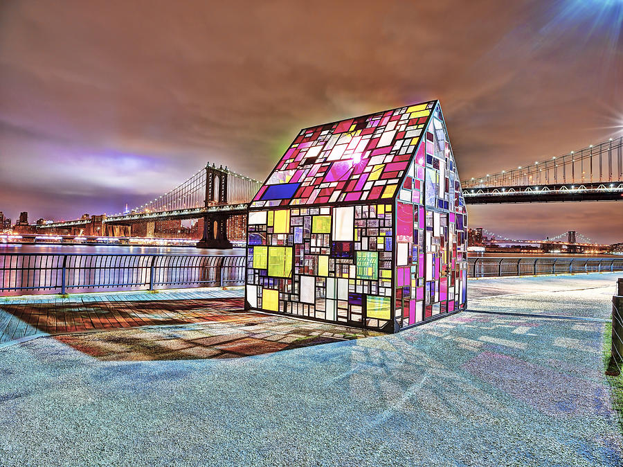 Color Photograph - Nyc Color  by Michael Tischler