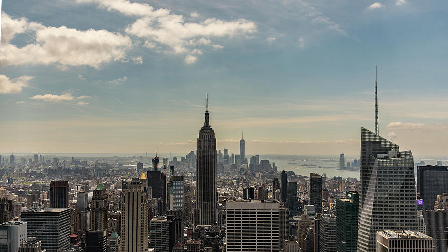 Nyc Downtown Photograph