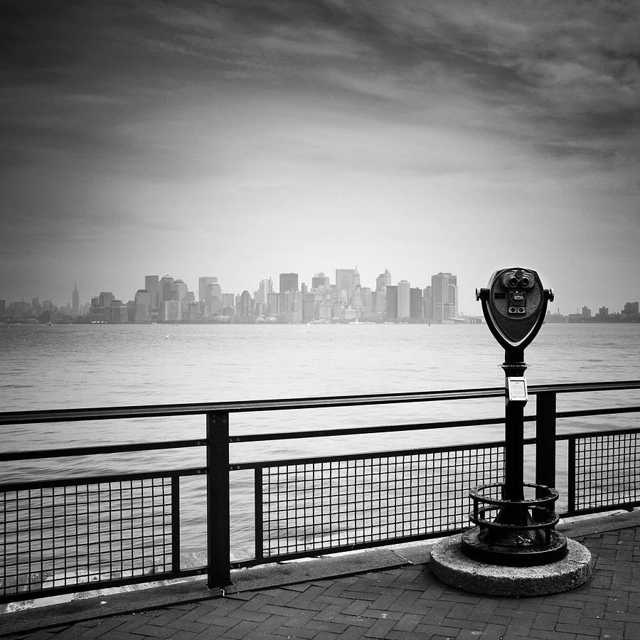 Ny Photograph - Nyc Manhattan View by Nina Papiorek
