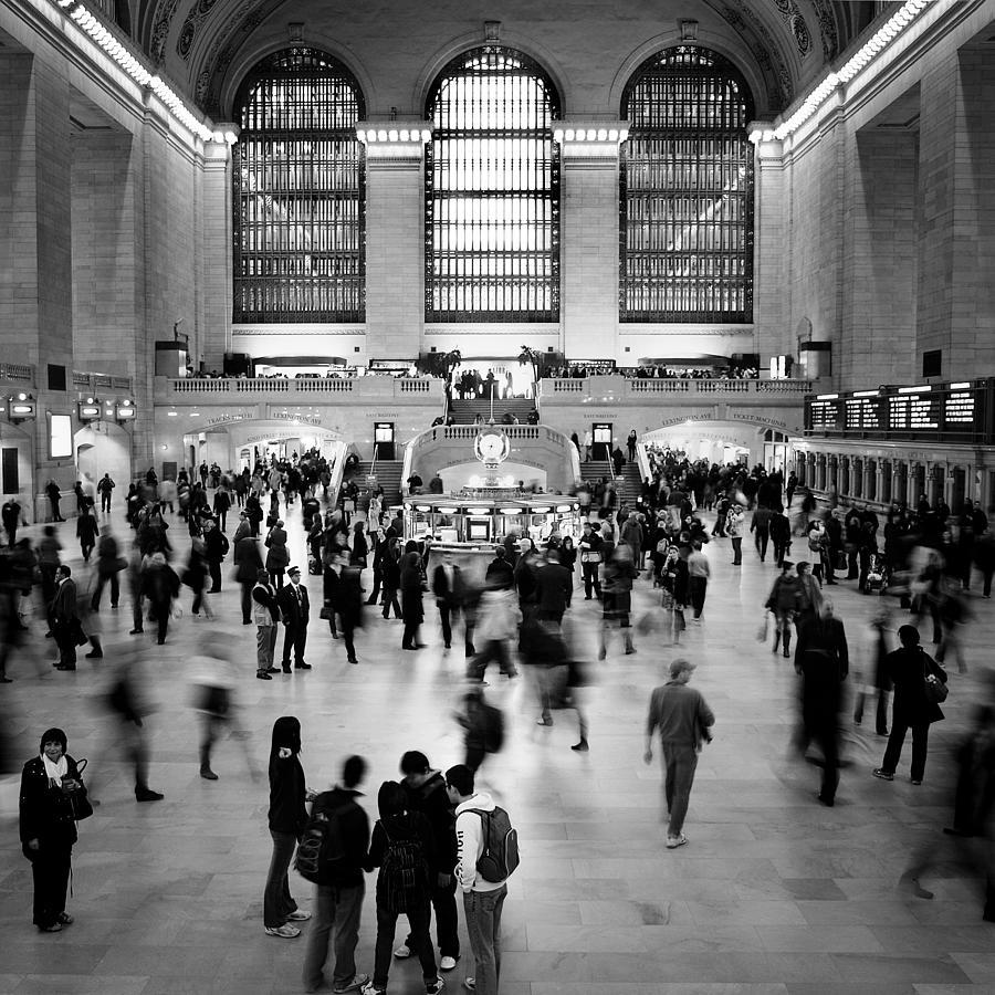 Ny Photograph - NYC Rush Hour by Nina Papiorek
