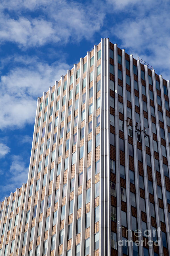 Nyc Skyscraper Facade Photograph