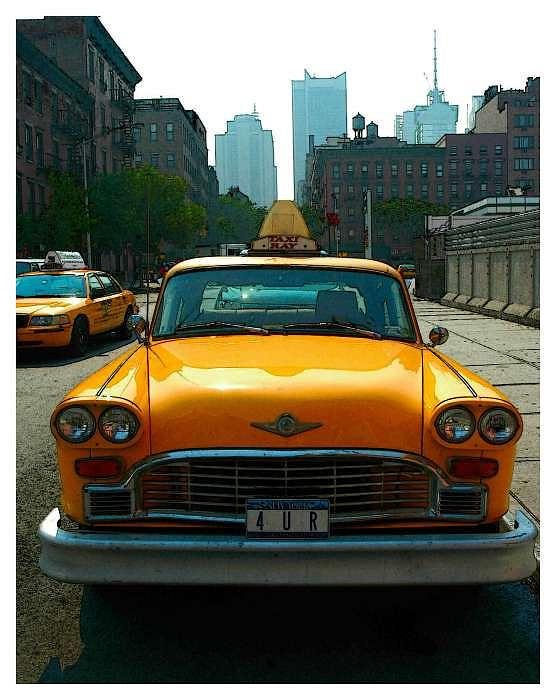 NYC Taxi Photograph by New York City - Artist Alexander Aristotle