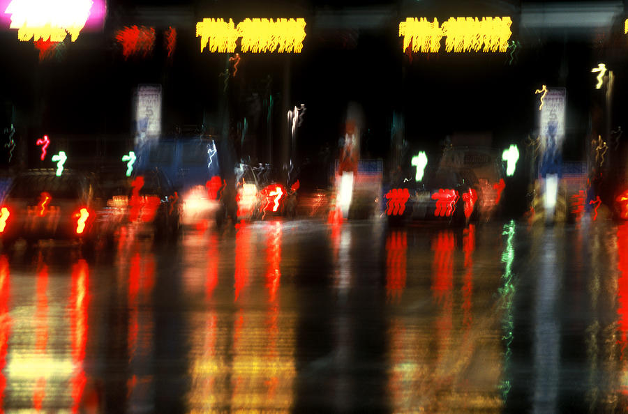 Abstract Photograph - Nyc Toll Booth by Brad Rickerby