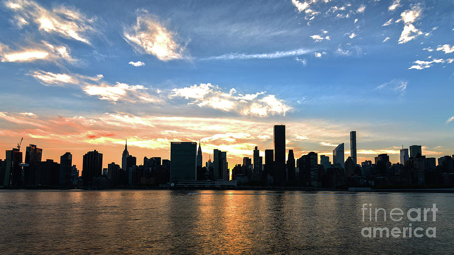 NYC View from LIC by Sally Morales