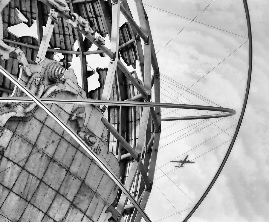 Nyc Photograph - Nyc Worlds Fair 1964 Today by Chuck Kuhn