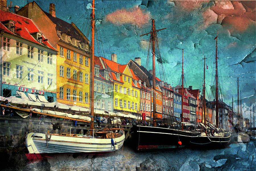 Nyhavn Harbor-Copenhagen by Anna Yanev