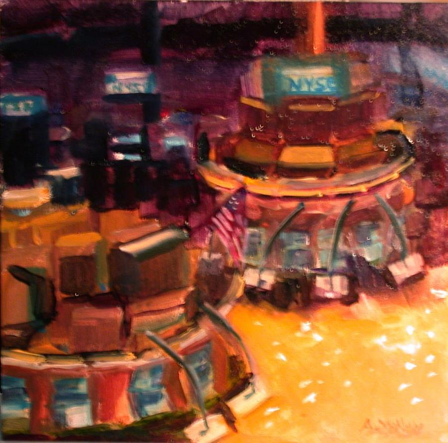 Interior Painting - Nyse by Anne McNally