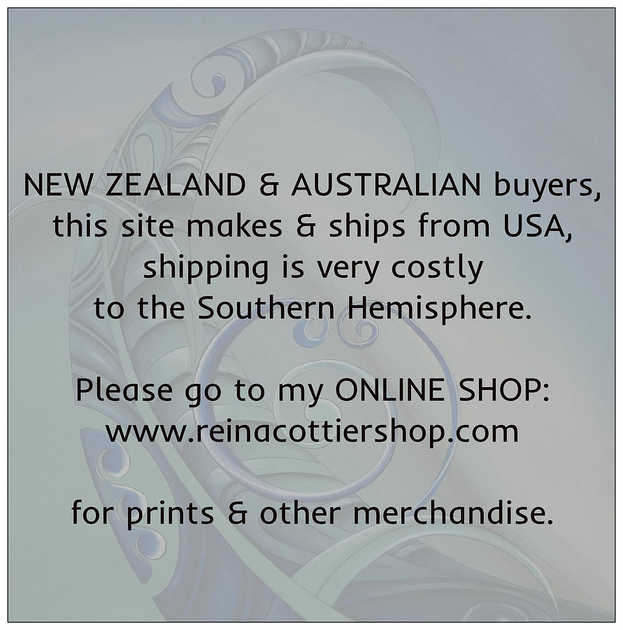 NZ and  AU Buyers by Reina Cottier