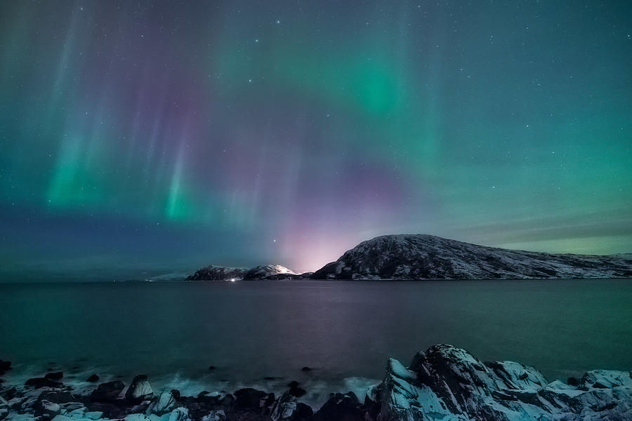 Aurora Borealis Photograph - O Holy Night by Tor-Ivar Naess