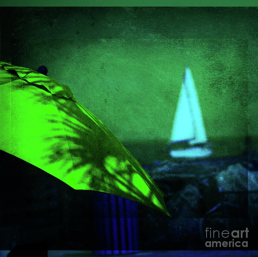 Abstract Photograph - O Sole Mio by Susanne Van Hulst