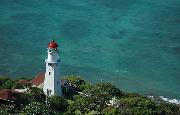 Hawaii Photograph - Oahu Lighthouse Hawaii by Adrian Brown