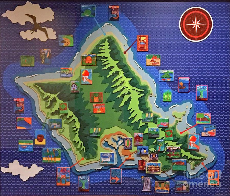 Oahu Map Map Oahu on tahiti map, waikiki map, pearl harbor map, montana map, niihau map, hawaii map, south carolina map, colorado map, molokai map, honolulu map, haleiwa map, hanauma bay map, maui map, hilo map, kauai map, big island map, kahoolawe map, california map, kaneohe bay map, lanai map,