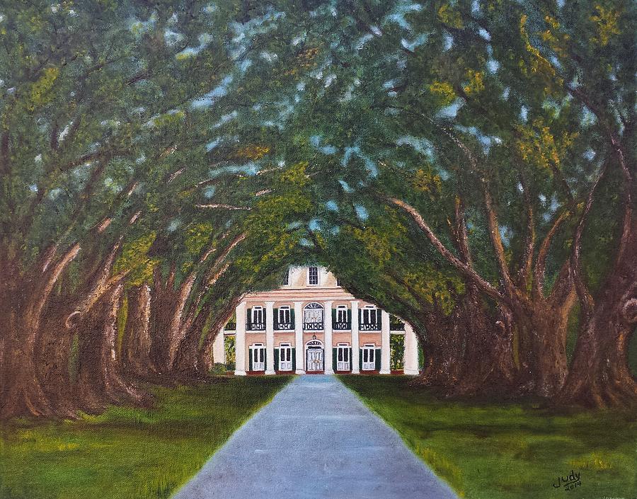 Oak Alley Plantation Painting