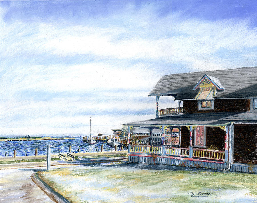 Oak Bluffs Winter by Paul Gardner