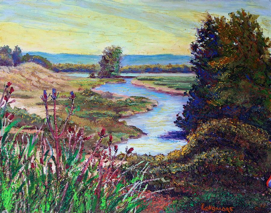Oak Island Painting - Oak Hill by Sandra Longmore
