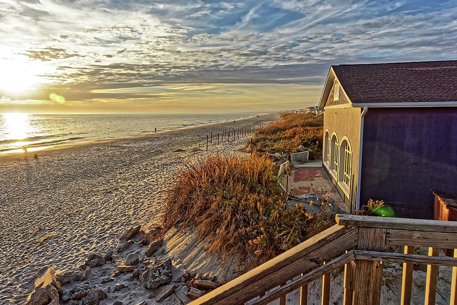 Oak Island Beach by Don Margulis