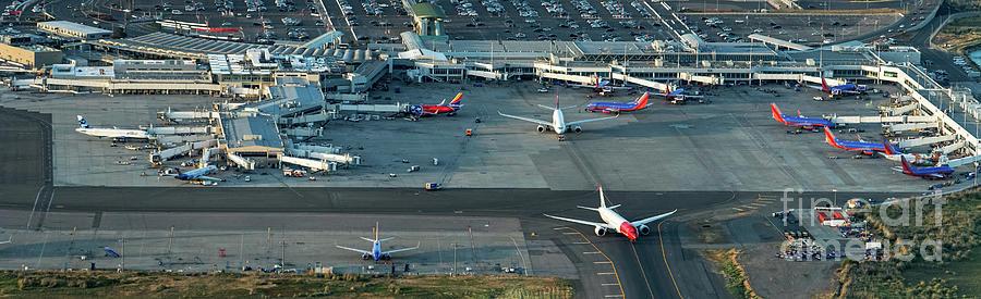 Oakland International Airport Photograph - Oakland International Airport by David Oppenheimer