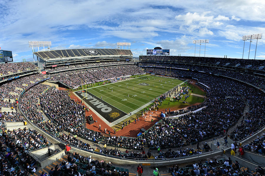 Oakland Raiders O.co Coliseum by Mark Whitt
