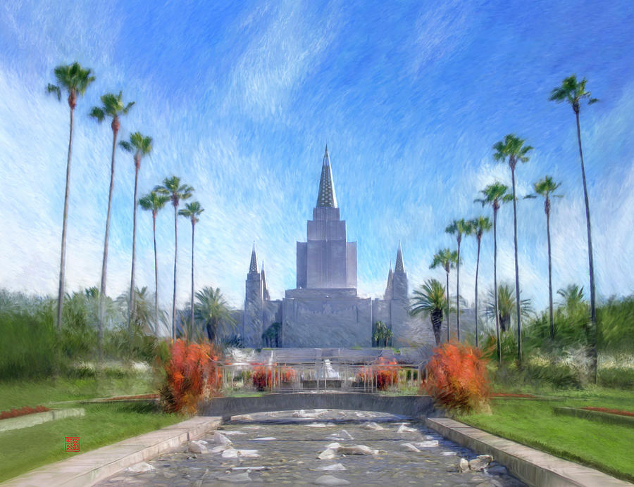 Oakland Temple No. 1 by Geoffrey Lewis