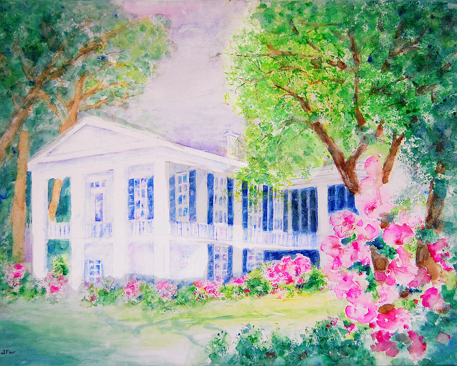 Oakleigh Mansion in Springtime by Jerry Fair