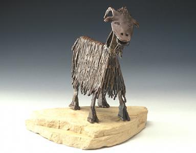 Oatie Pagoatee Sculpture by Marsha De Broske