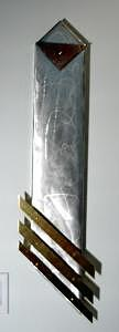 Aluminum Sculpture - Obelisck by Craig Richards