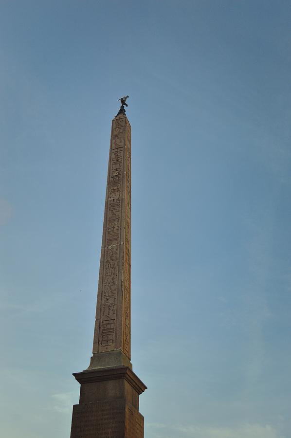 Italy Photograph - Obelisk Of Domitian by JAMART Photography
