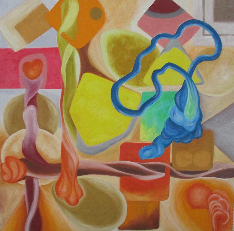 #objects Painting by Ken Hakki