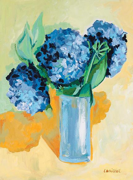 Lavender Painting - Objurgation by Lynette K Waters-Whitesell