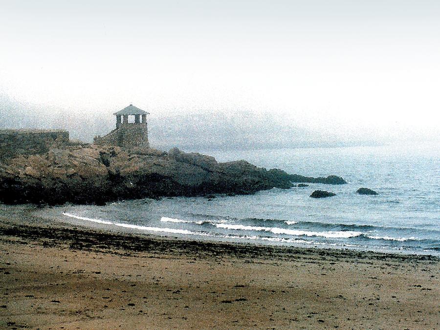 Seascape Painting - Observatory Point by Paul Sachtleben