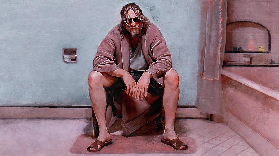 Lebowski Painting - Obviously You Are Not A Golfer - The Big Lebowski by Joseph Oland