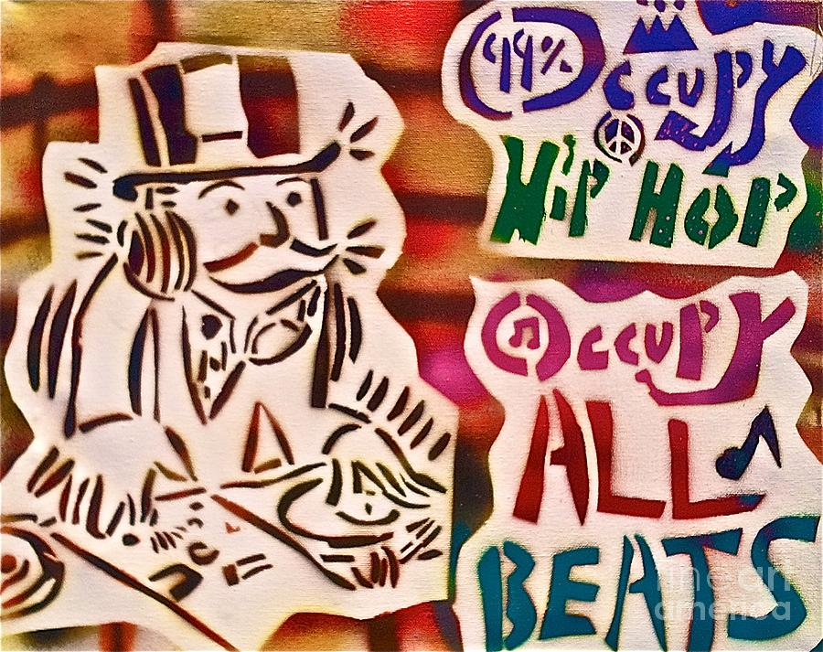 Occupy Painting - Occupy All Beats by Tony B Conscious