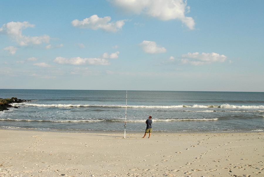 Ocean 15 photograph by joyce stjames for Lbi surf fishing report