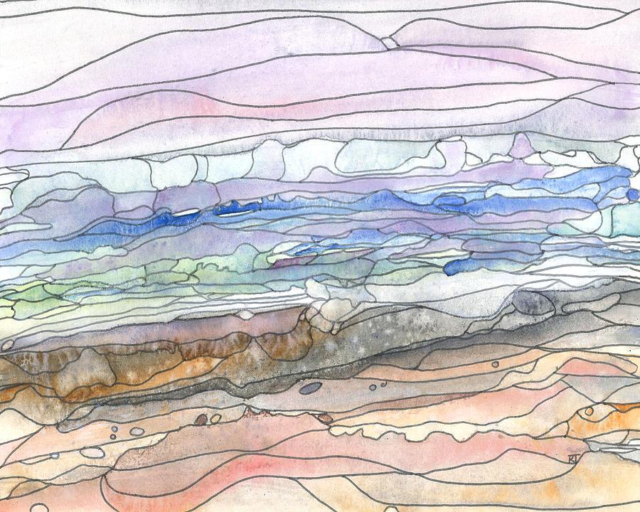 Beauty Painting - Ocean 29 by Katie Ree