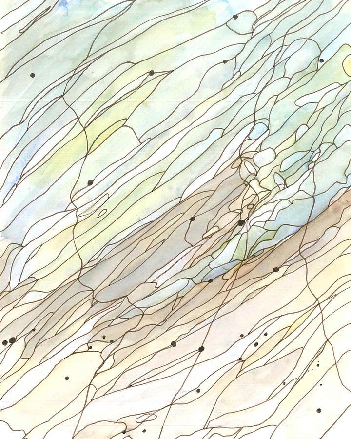 Ocean Painting - Ocean 5 by Katie Ree