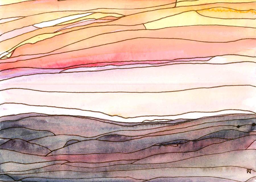 Ocean Painting - Ocean 8 by Katie Ree