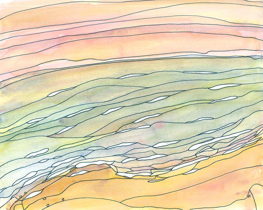 Ocean Painting - Ocean 9 by Katie Ree
