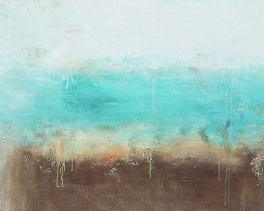 Blue Painting - Ocean Abstract by Jamaal Moore