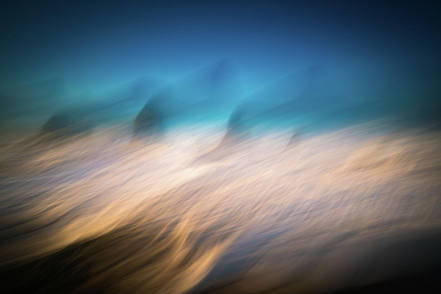 America Photograph - Ocean Abstract by William Freebilly photography