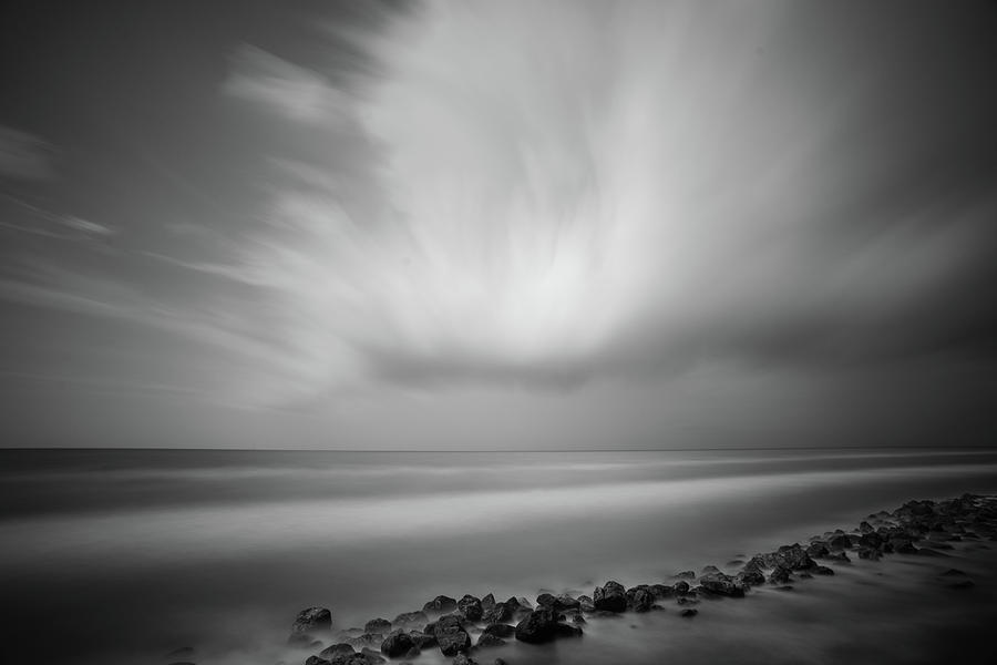 Ocean and Clouds by Todd Aaron