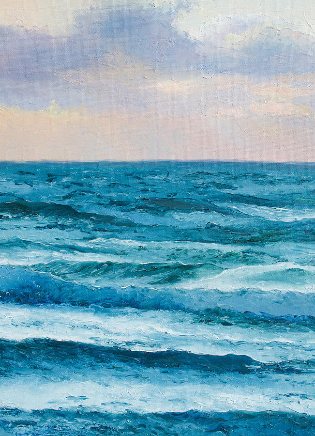 Ocean Painting - Ocean Art 2 by Jan Matson