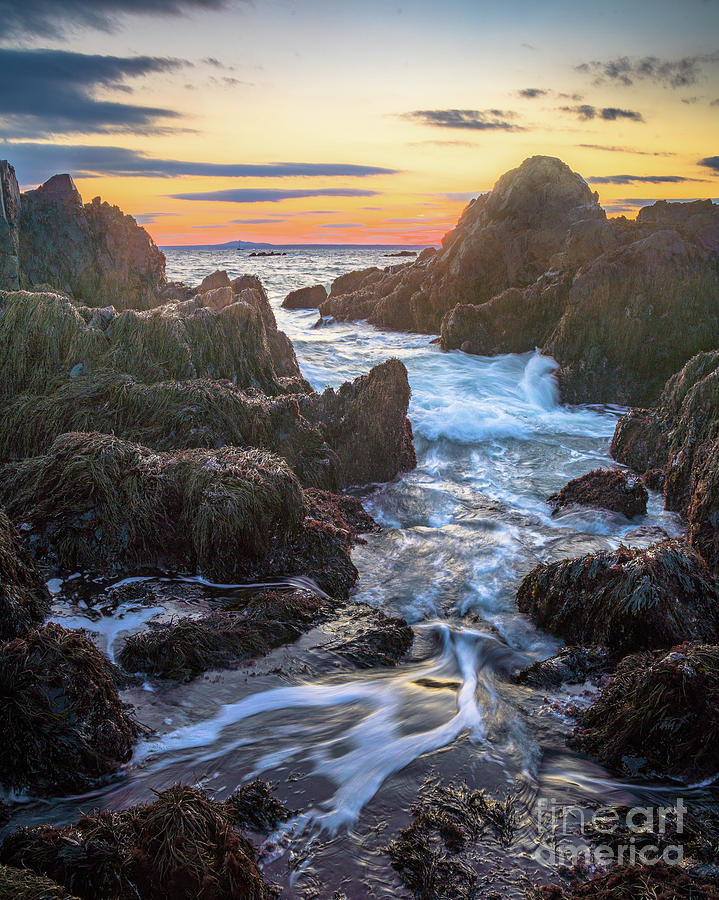 Coast Photograph - Ocean Ave. Seascape by Benjamin Williamson