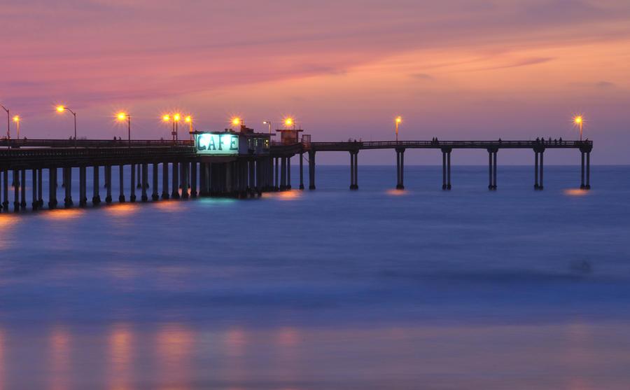 Ocean Beach Pier Photograph - Ocean Beach Pier by Kelly Wade