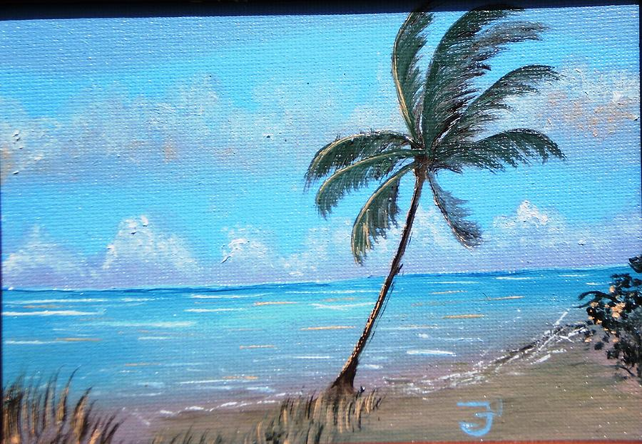 Ocean Painting - Ocean Breeze by Francis Roberts ll
