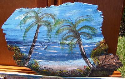 Ocean Breeze Painting by Sheldon Morgan